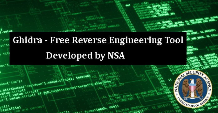Ghidra  - Ghidra - Free Reverse Engineering Tool Developed by NSA