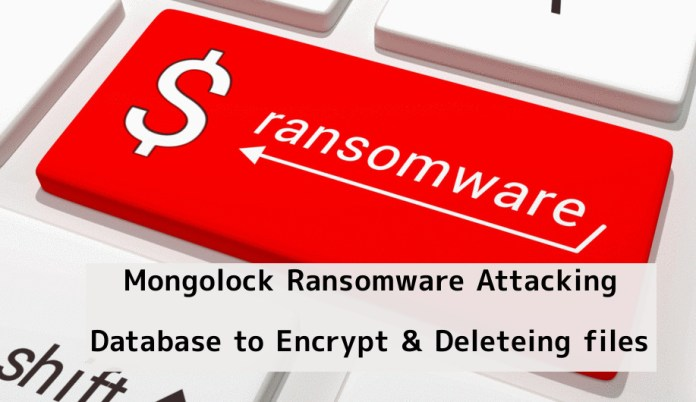 - Gn4Hl1548897076 - New Mongolock Ransomware Attacking Database to Deleteing file