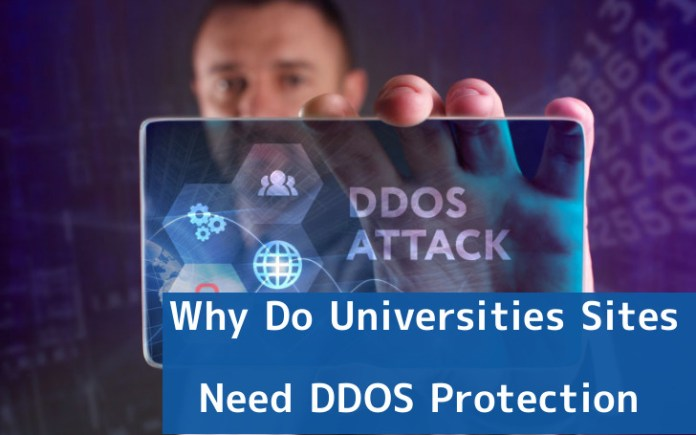 DDOS Protection  - PX5m91548094633 - Why Do Universities Sites Need DDOS Protection?