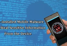 Pre-Installed Mobile Malware