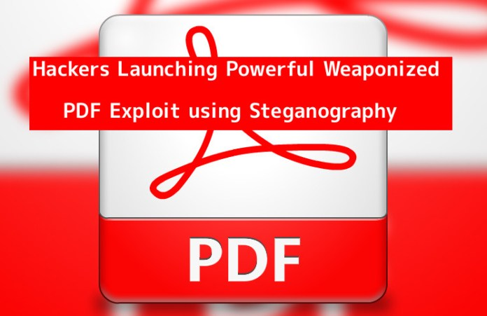 PDF exploit  - U1BnG1548661146 - Hackers Now Sending Weaponized PDF Exploit using Steganography