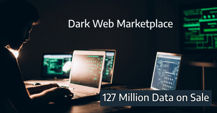 127 million  - 127 million - 127 Million Records from Another 8 Websites Listed on Dark Web
