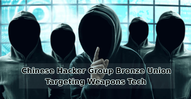 Chinese Hacker Group Bronze Union Targeting Weapons Tech