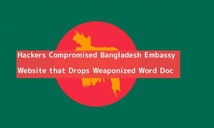 Bangladesh Embassy  - PaUFl1551282966 - Hackers Compromised Bangladesh Embassy Website that Drops Words