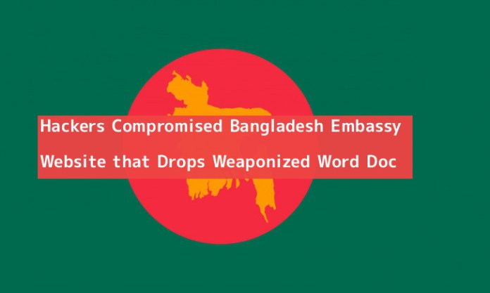 Bangladesh Embassy  - PaUFl1551282966 - Hackers Compromised Bangladesh Embassy Website that Drops Words