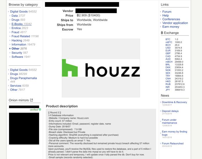 127 million  - Stolen data dark web - 127 Million Records from Another 8 Websites Listed on Dark Web