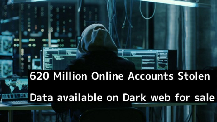 Online Accounts  - XRnlH1550160267 - 620 Million Online Accounts Data Stolen from 16 Hacked websites