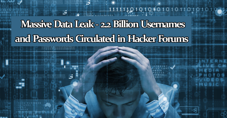 Breached Database - 2 2 Billion Usernames and Passwords