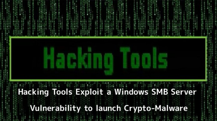 - nuuxF1550817758 - Hacking Tools launching Crypto-Malware by Exploit a SMB Server Flaw