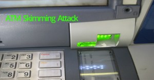 ATM Skimming Attack