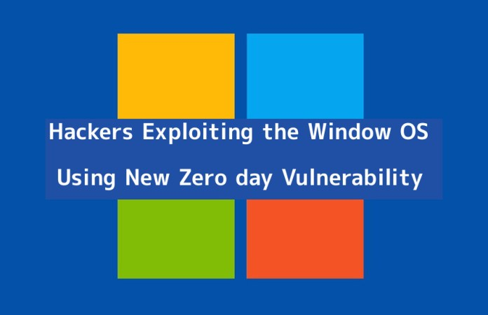 - AXxxo1552620558 - APT Hackers Exploiting the Window OS Using New Zero day Vulnerability