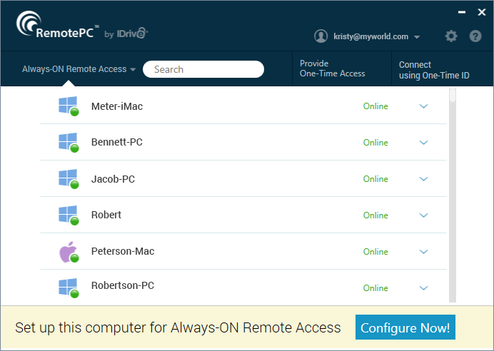 best remote desktop software  - RemotePC    - 9 Best Remote Desktop Software for 2019