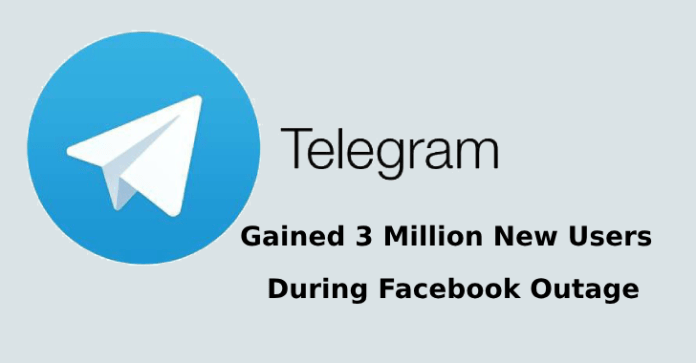 instant messaging  - instant messaging - Telegram Gained 3 Million New Users During Facebook Outage