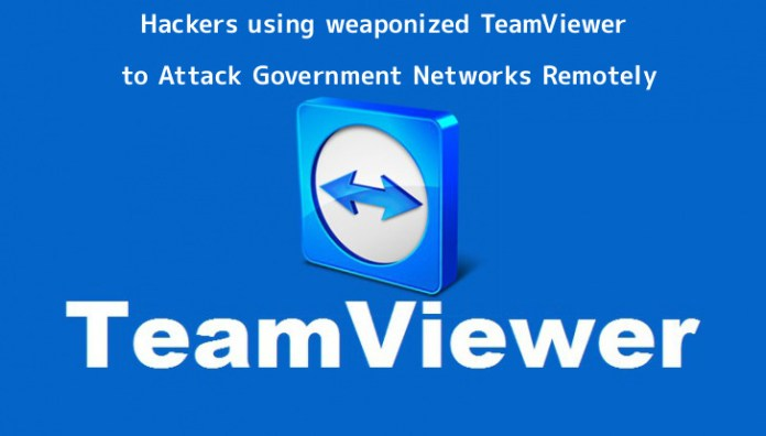 TeamViewer  - 5Iqvn1556073087 - Hackers using weaponized TeamViewer to Attack Government Networks