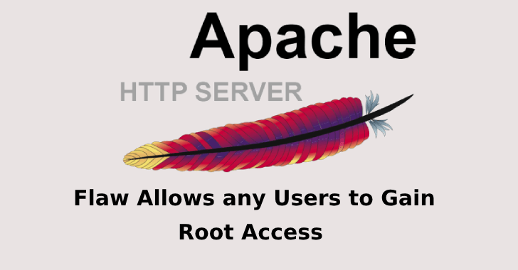 A Flaw in Apache HTTP Server Allows any Users to Gain Root