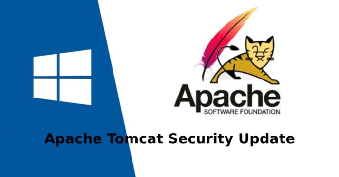 CGI Servlet  - Apache Tomcat - Apache Tomcat Security Update for RCE Vulnerability on Windows