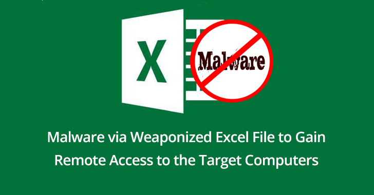 Hackers Launching Malware via Weaponized Excel File