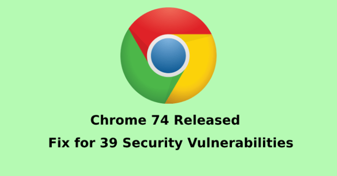 Chrome 74