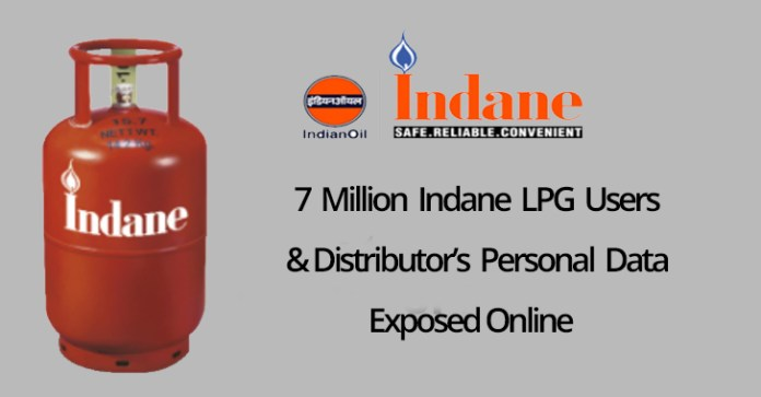 Indane  - Indane - 7 Million Indane LPG Users Personal Data & Bank Details Leaked Online