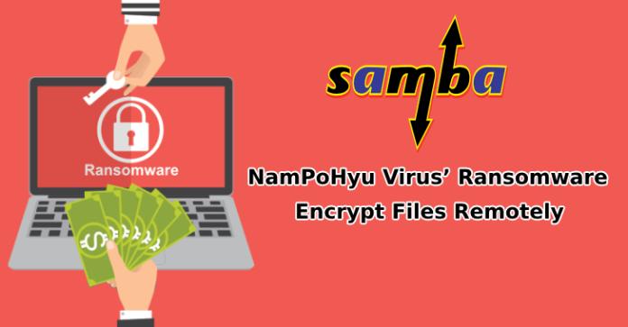 samba servers  - samba servers - NamPoHyu Virus' Ransomware Targets Samba Servers