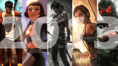 Raptures Lost's Top 10 Games Of 2013