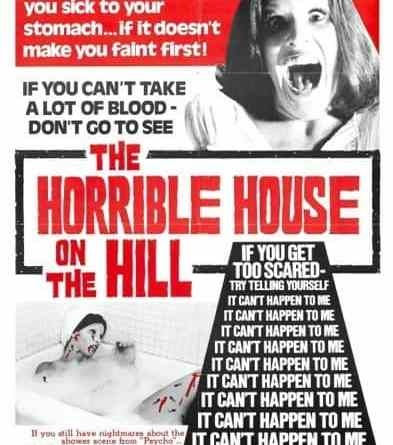 Horror Movie Review: The Horrible House On The Hill (1974)