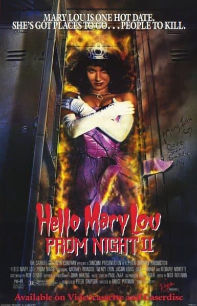 Horror Movies Prom Night