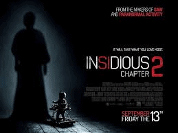 Horror Movie Review: Insidious: Chapter 2 (2013)