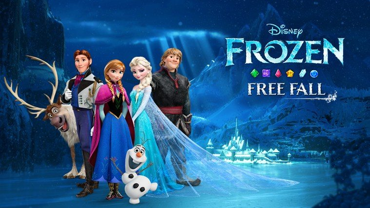 Game Review: Frozen Free Fall (Mobile – Free to Play)