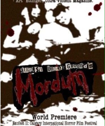 Horror Movie Review : August Underground's Mordum (2003)