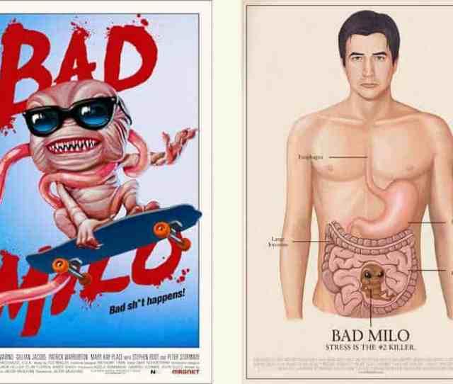 Horror Movie Review Bad Milo 2013