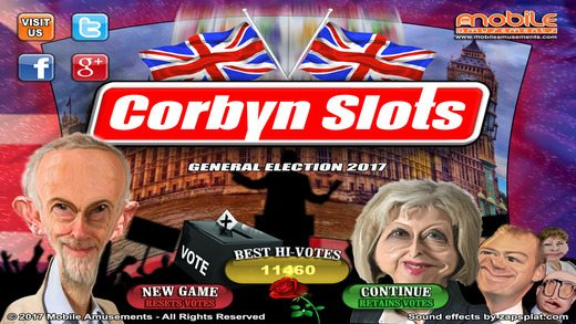 Game Review – Corbyn Slots (Mobile – Free to Play)