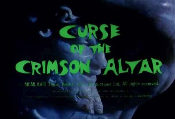 Horror Movie Review: Curse of the Crimson Altar (1968)