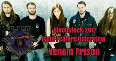 Bloodstock Festival 2017 Band Feature/Interview: Venom Prison