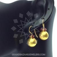 24 Karat Gold Earrings GBJ296ER26540