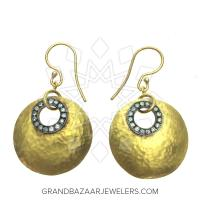 24 Karat Gold Earrings GBJ296ER28477