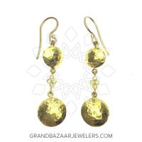 24 Karat Gold Earrings GBJ296ER28478