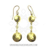 24 Karat Gold Earrings GBJ296ER28478