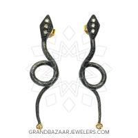 24 Karat Gold Earrings GBJ296ER33072