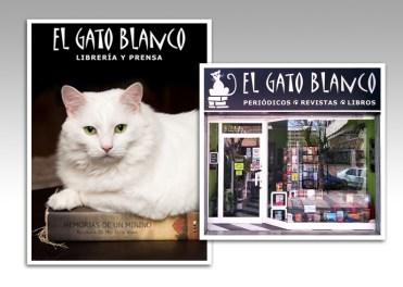 Rotulación y Cartelería para librería de Alicante