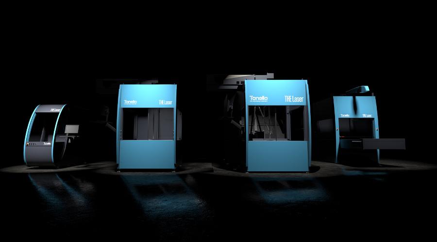 Tonello mostra nova geração de laser