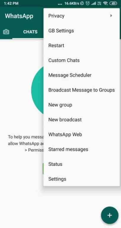GBWA homepage - gb whatsapp download new version 2020