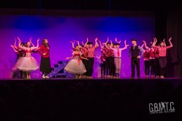 A Supercalifragilisticexpialidocious peformance by Holly Archer, Pete Flood & members of Georgian Bay School of Dance