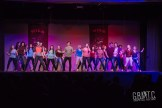 The cast of High School Musical were all in it together for this preview performance.