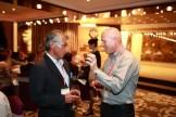Graham with Teruo Shinmyozu.
