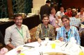 Kiran and some friends at the banquet, at Silks Palace.