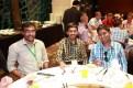 Kiran and some friends at the banquet, at Silks Palace.