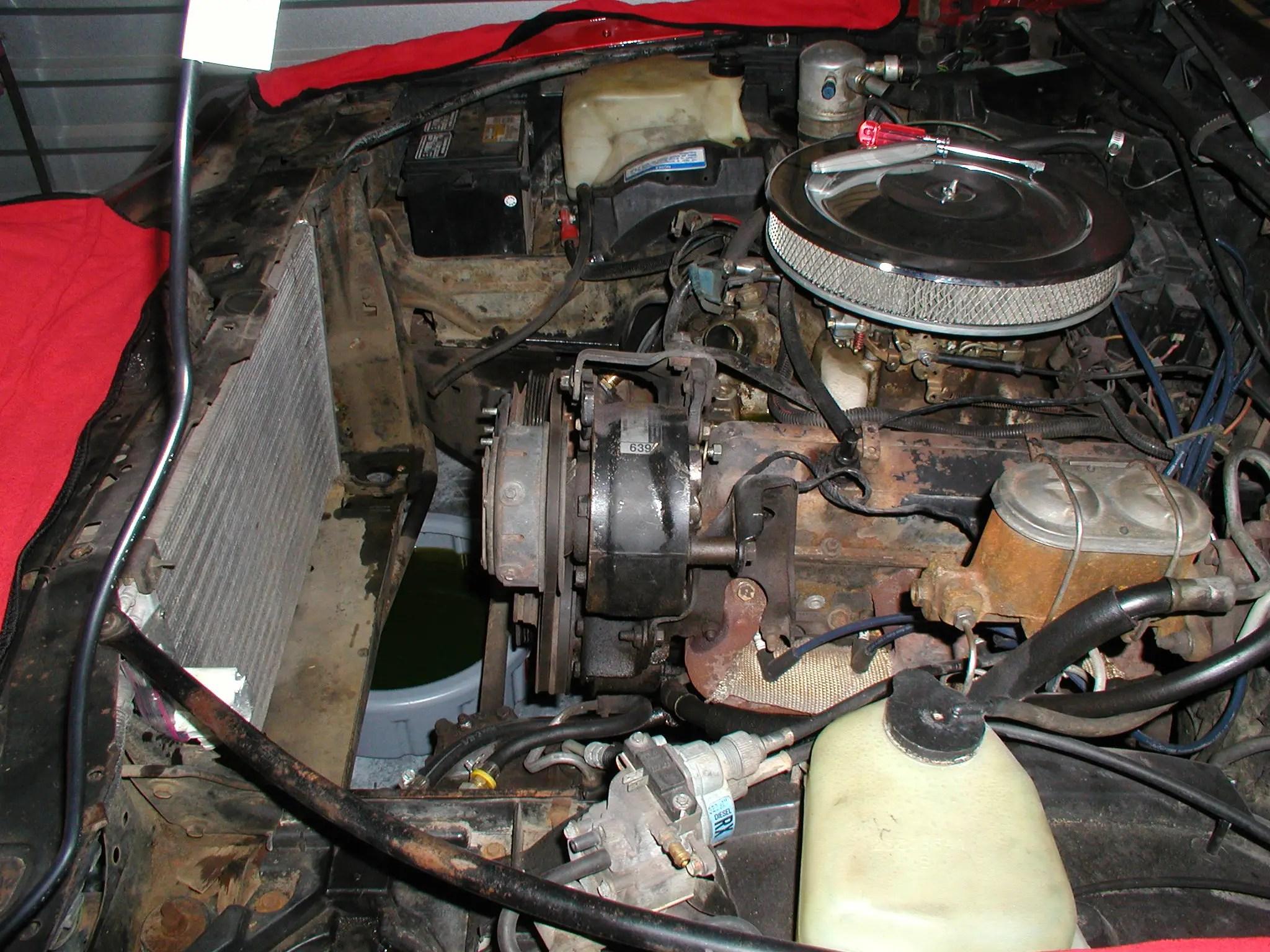 1972 Chevelle Fuse Box R4 A C Compressor Bracket Configuration Page 4